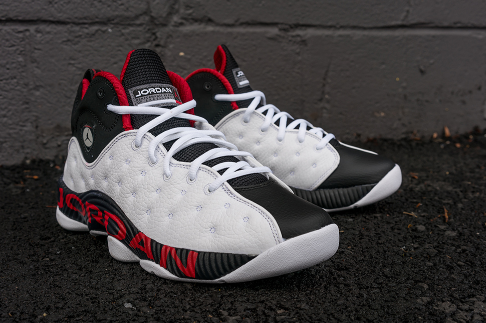 free shipping fe5ff 62a19 ... new arrivals jordan jumpman team 2 white black varsity red d8217 e9ecb