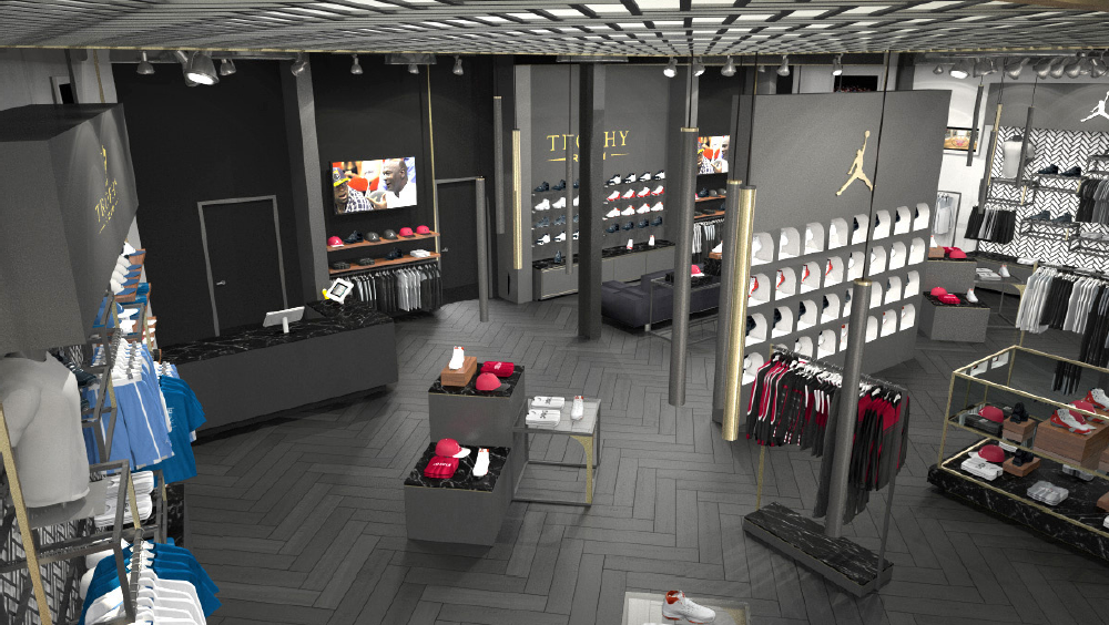 Trophy Room Shoe Store Location