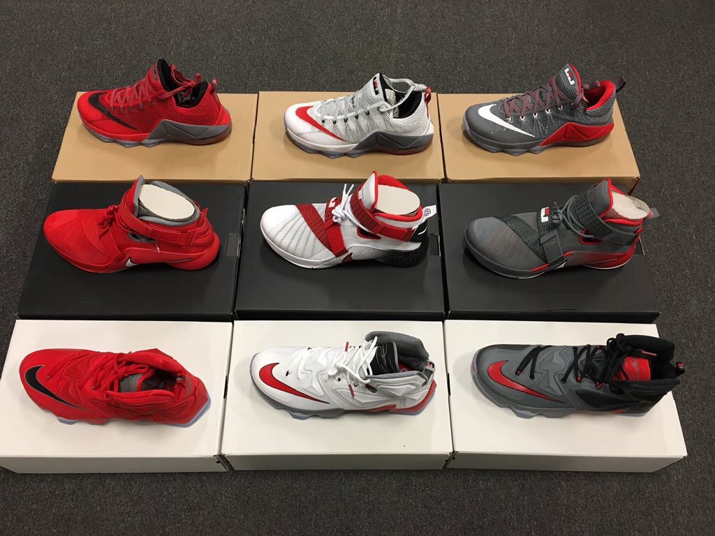 online retailer ecd71 205f6 LeBron James Hooked Up The OSU Buckeyes With Exclusives