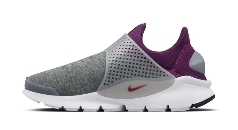 Nike Sock Dart Fleece Grey Purple