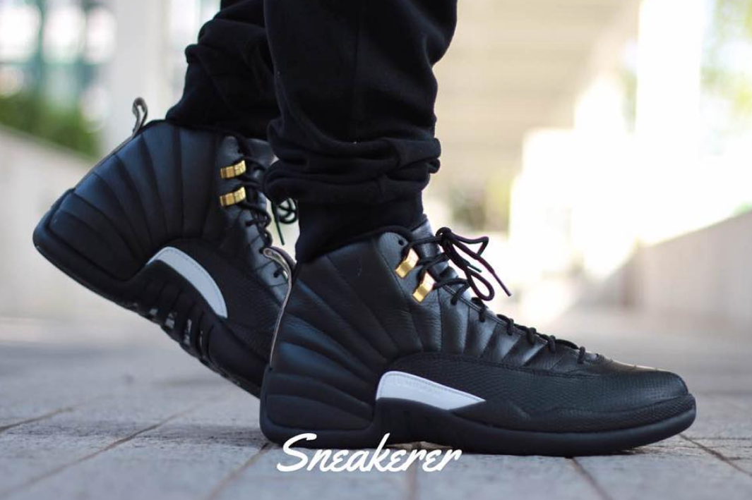 detailed look 6e975 33f9d The Master Jordan 12 On Feet