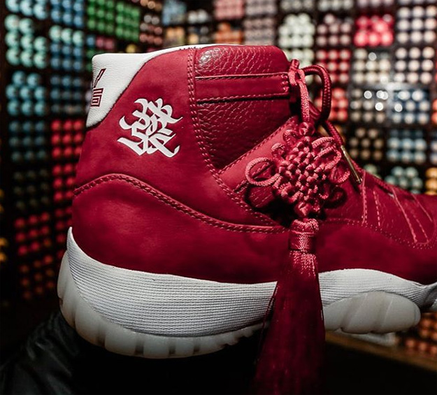Air Jordan 11 Chinese New Year Custom