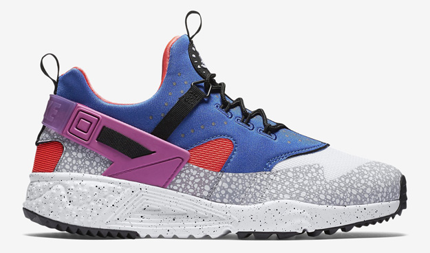 Nike Air Huarache Utility Royal Crimson Safari