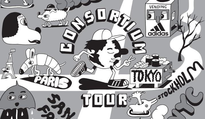 adidas Consortium Tour