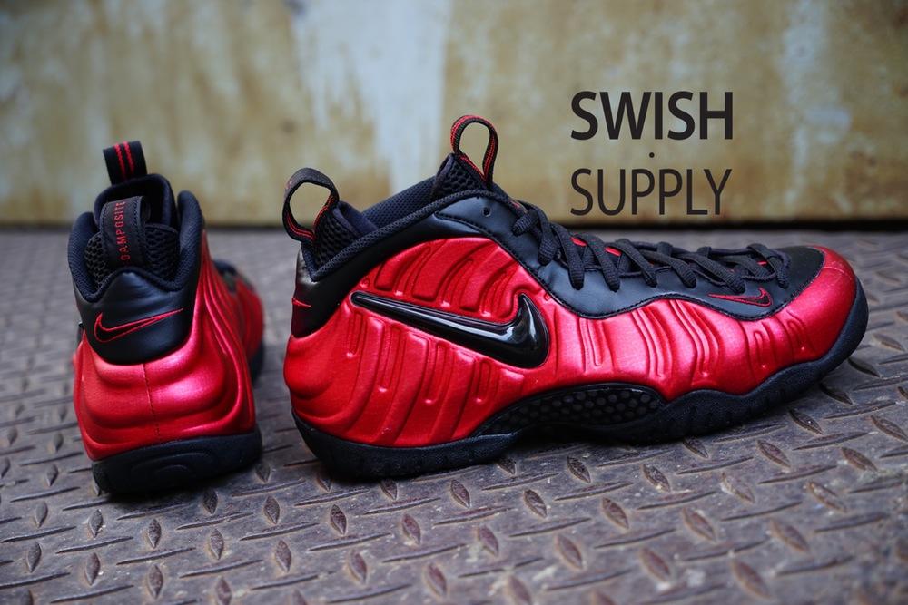 Black Red Nike Air Foamposite Pro