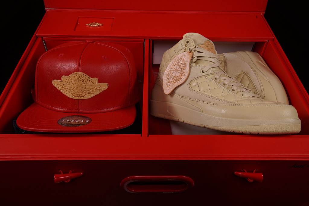 989029426190 Don C Air Jordan 2 Beach Gold Release Date - Sneaker Bar Detroit
