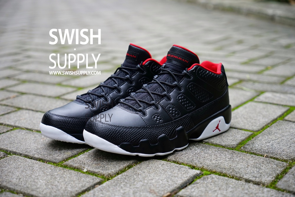 new arrival 69db2 0218e Air Jordan 9 Low Black White Release Date - Sneaker Bar Detroit