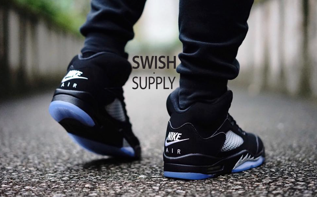 Nike Air Jordan 5 OG Retro Black Metallic