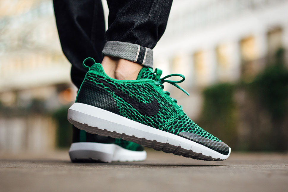 "the best attitude 32a27 88b85 Nike Roshe NM Flyknit SE ""Lucid Green"""