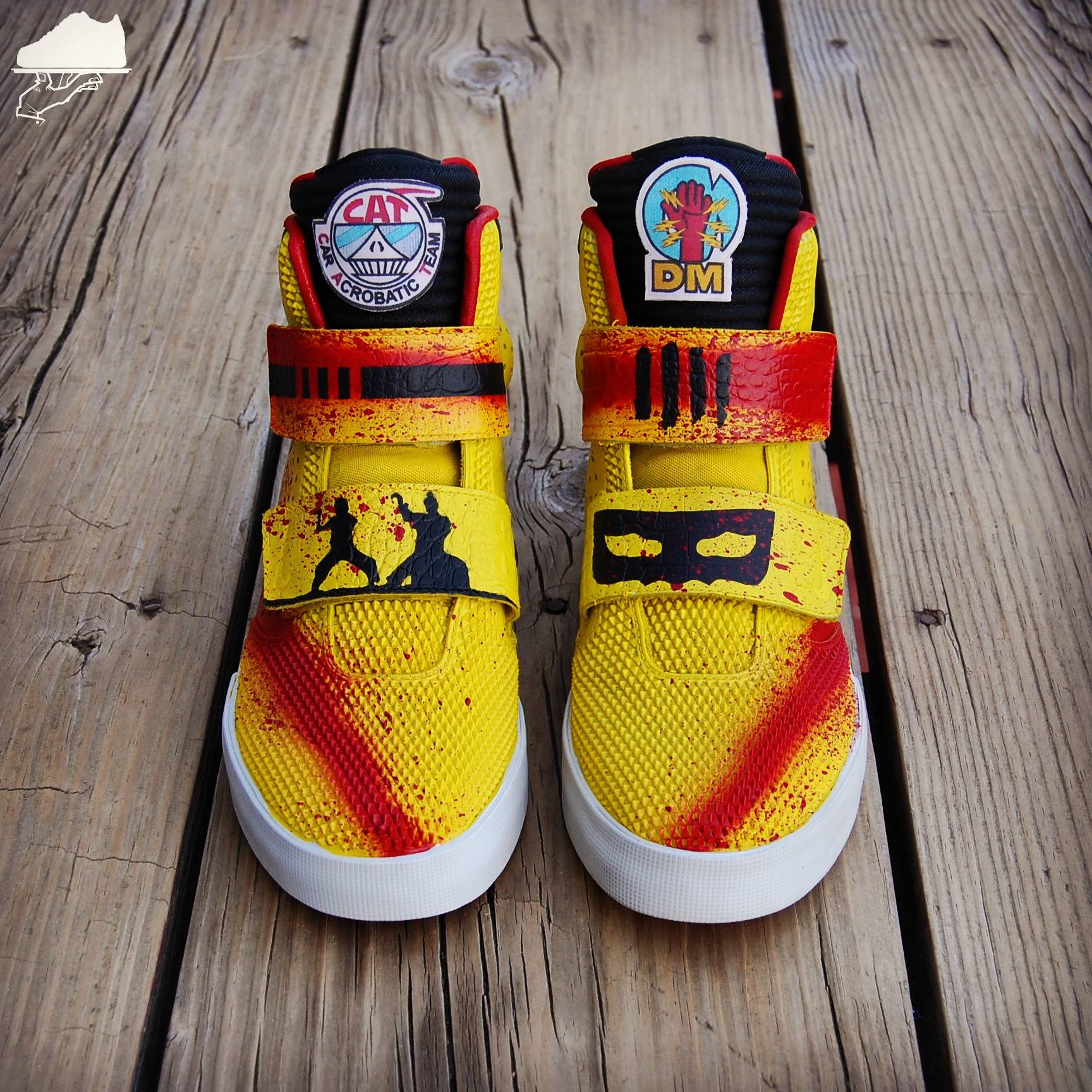Nike Flystepper 2K3 Kill Bill Custom