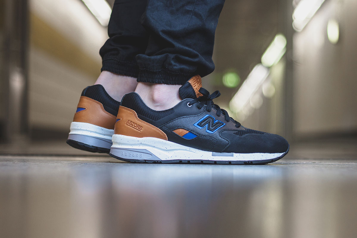 New Balance CM1600BT Black Tan Blue