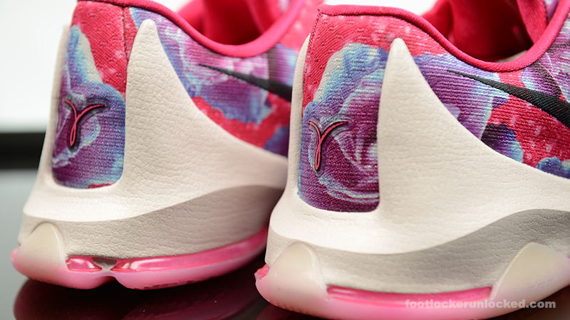 Nike KD 8 Aunt Pearl Pink Floral