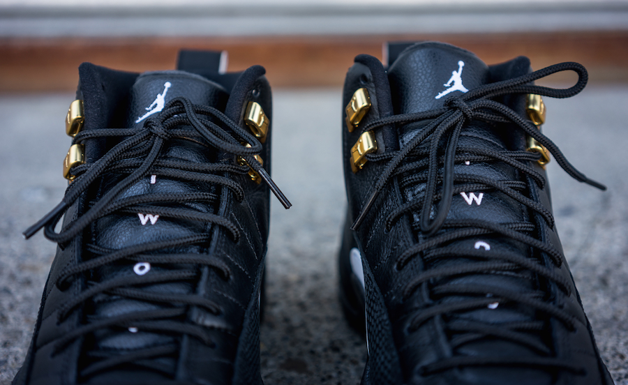 Air Jordan 12 The Master Black Gold