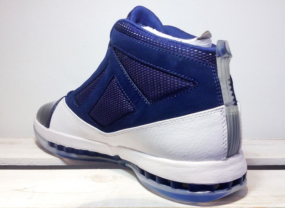 Air Jordan 16 Retro White Navy November 2016