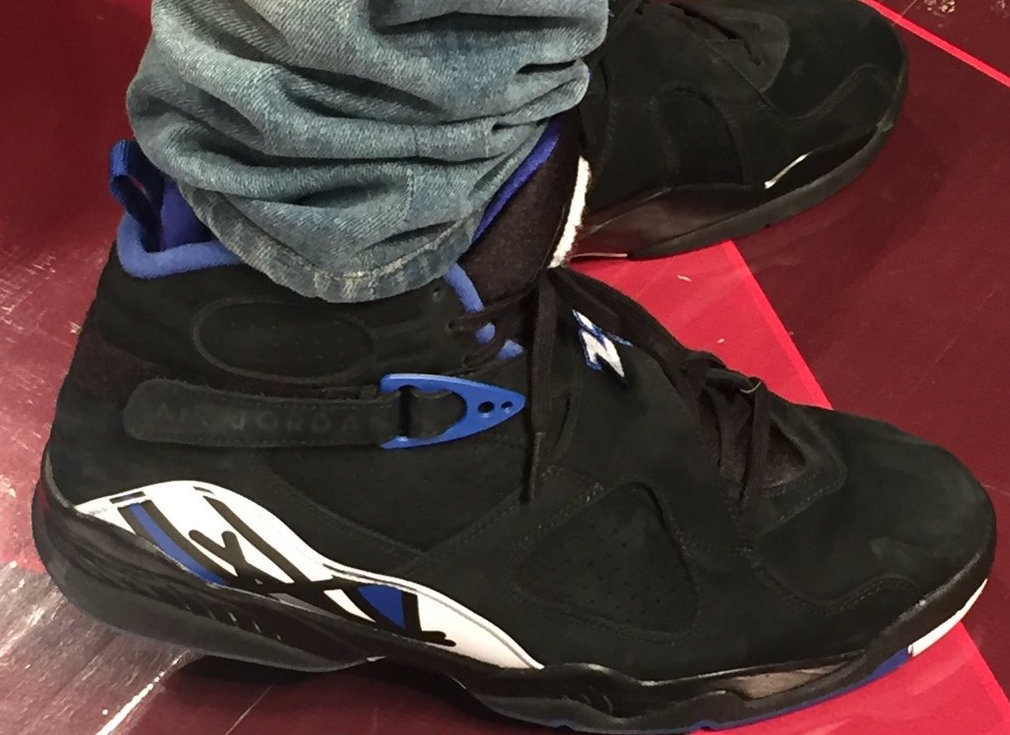 2eab20943b9d Drake Air Jordan 8 OVO Kentucky Blue Black - Sneaker Bar Detroit