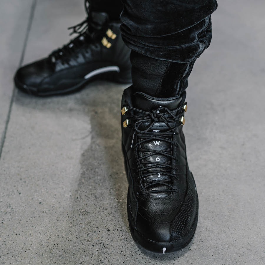 The Master Air Jordan 12 On Feet Images