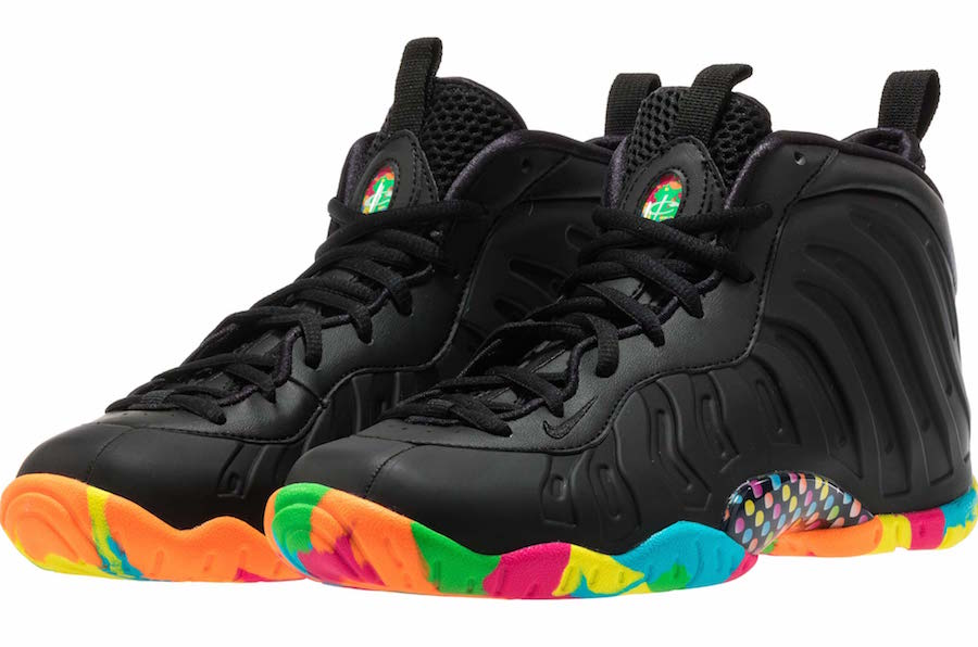 Nike Little Posite One Black Fruity Pebbles