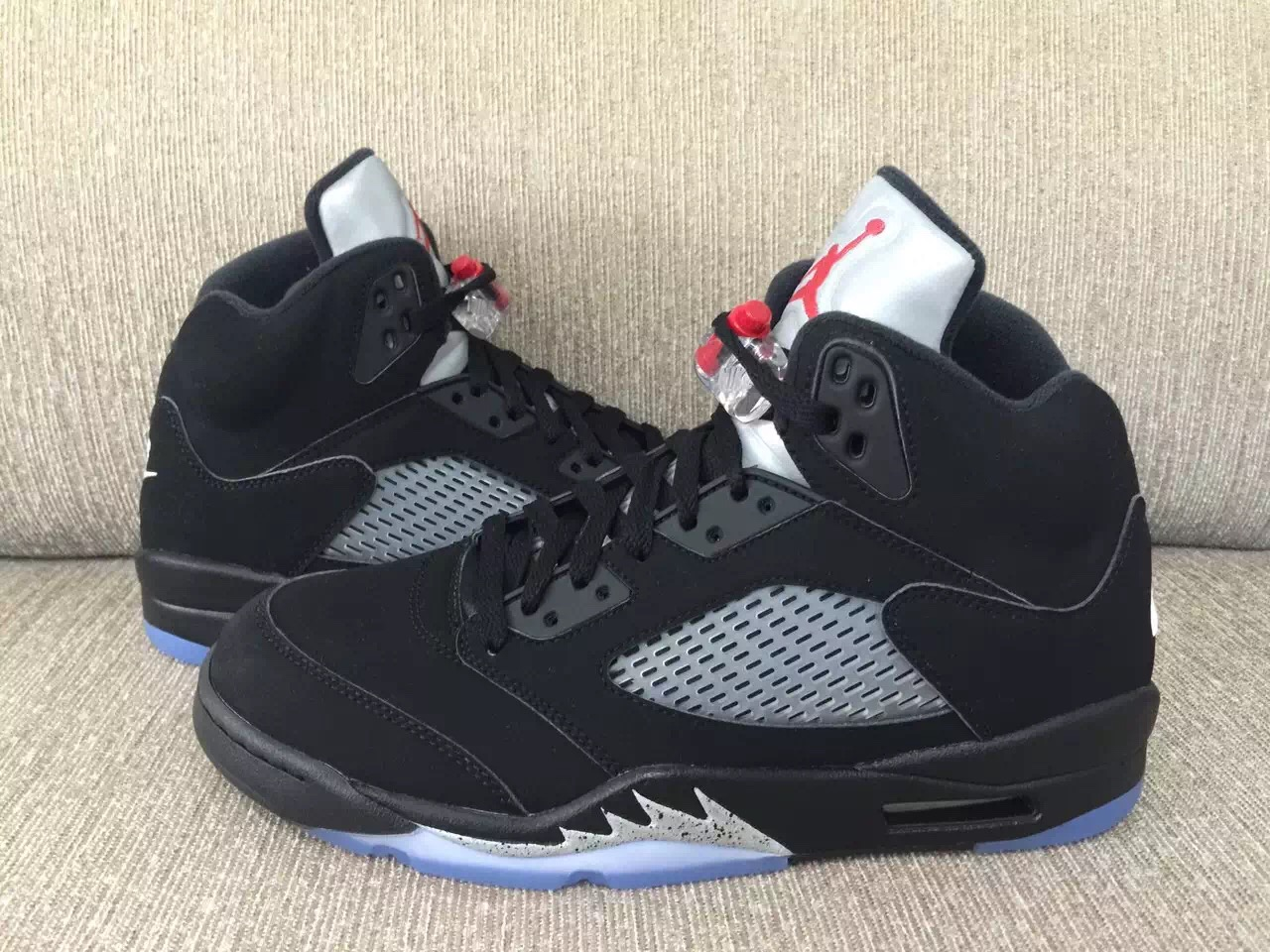 2016 Air Jordan 5 OG Black Metallic