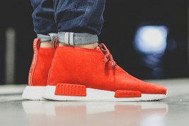 adidas NMD Boost Chukka Lush Red Suede
