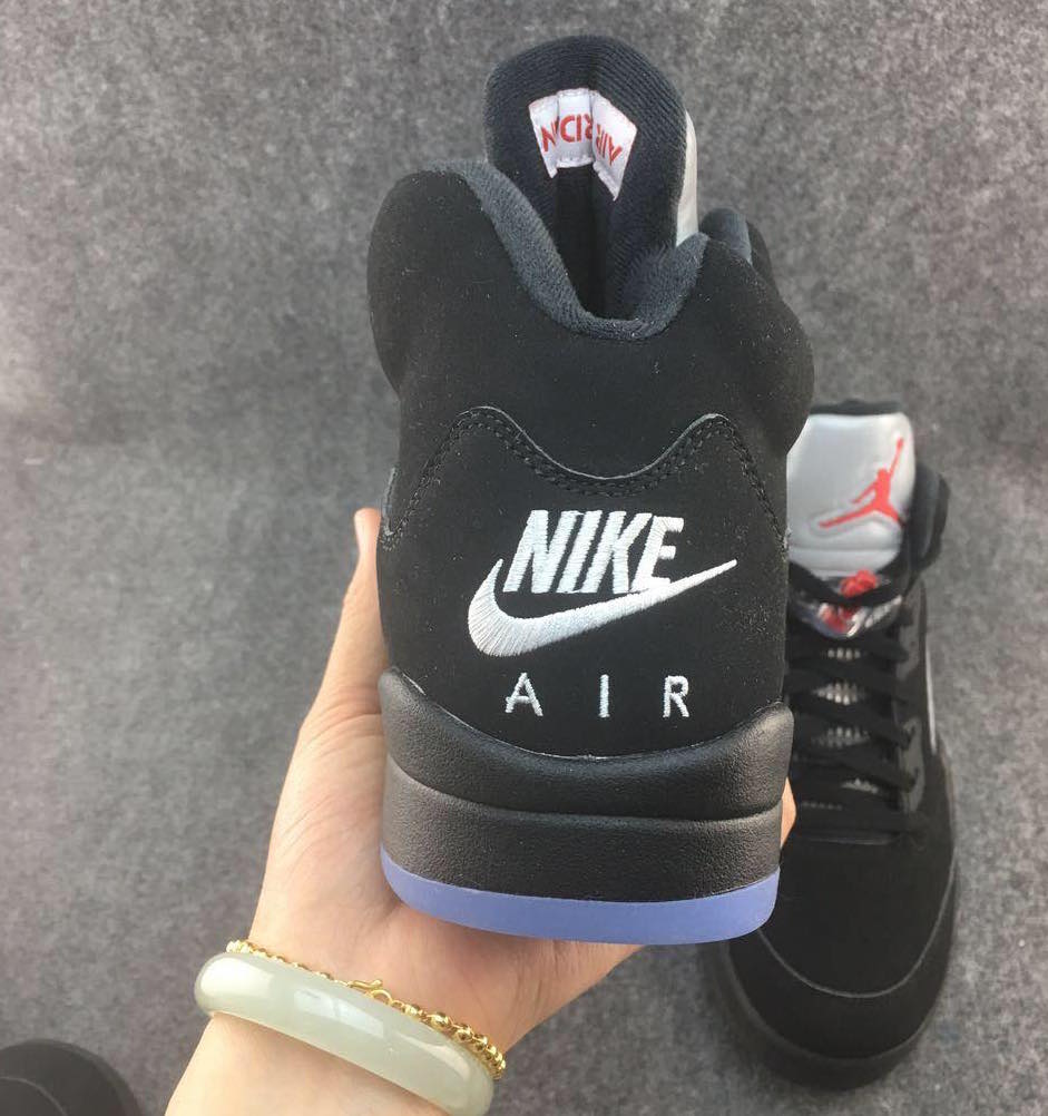 Air Jordan 5 Nike Air Black Metallic OG