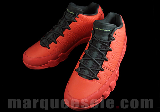 Air Jordan IX 9 Low Bright Red