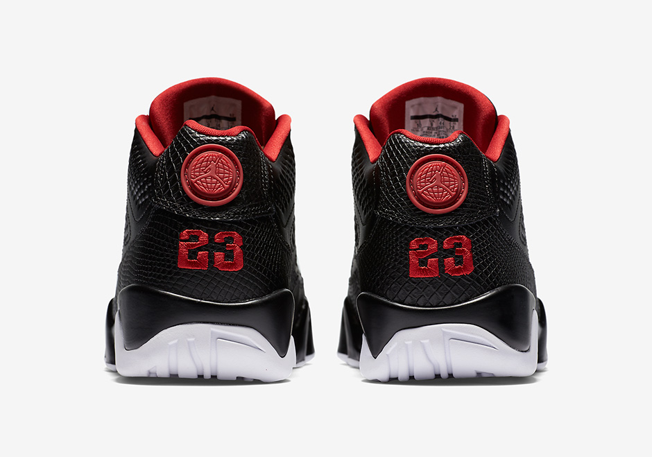 Air Jordan 9 Low Bred Release Date