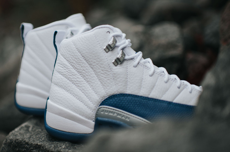 French Blue Air Jordan 12 April 2nd