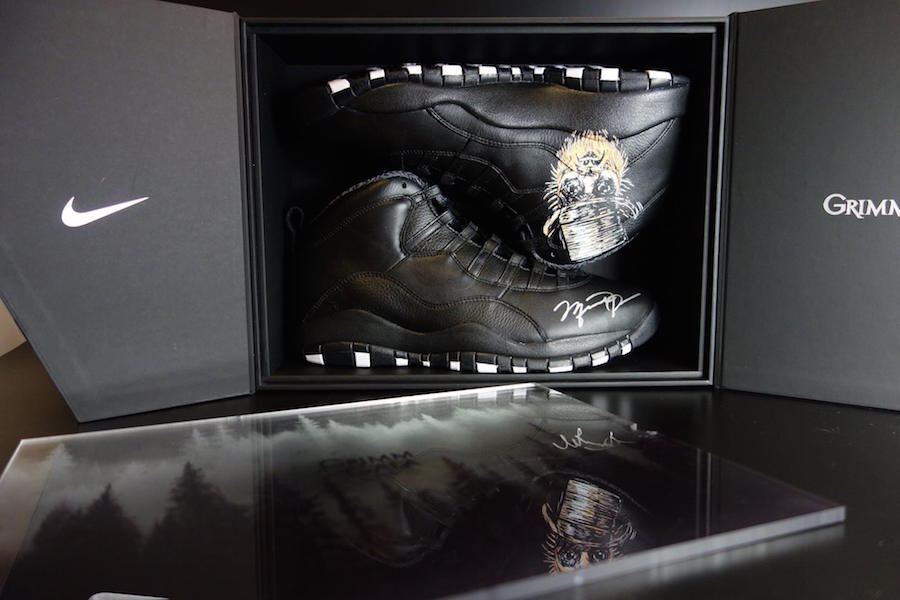 Grimm Air Jordan 10 Tinker Hatfield