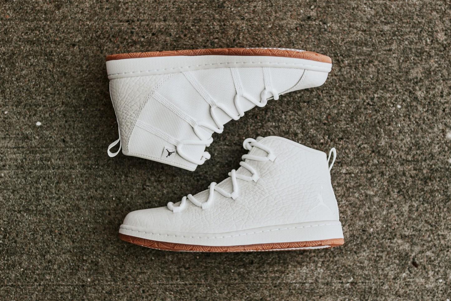new product a69d8 9d11e Jordan Galaxy White Gum