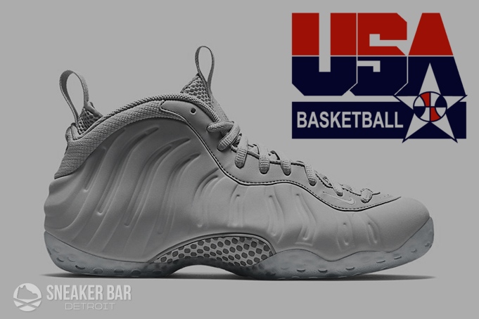 Nike Air Foamposite One USA Olympic 2016