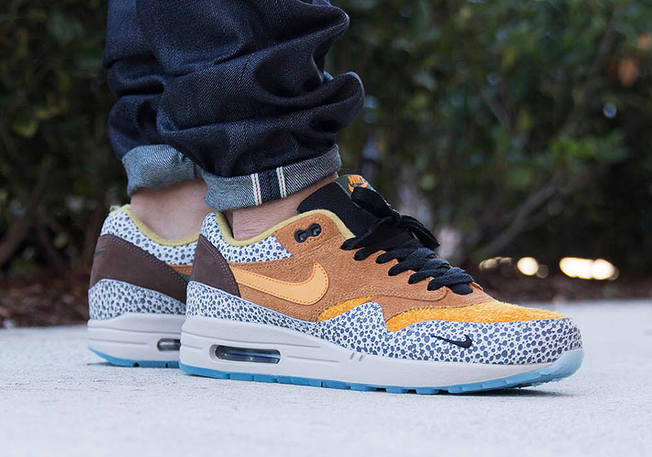 Nike Air Max 1 Safari On Feet