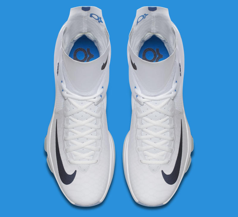 Nike KD 8 Elite Home White Star Blue