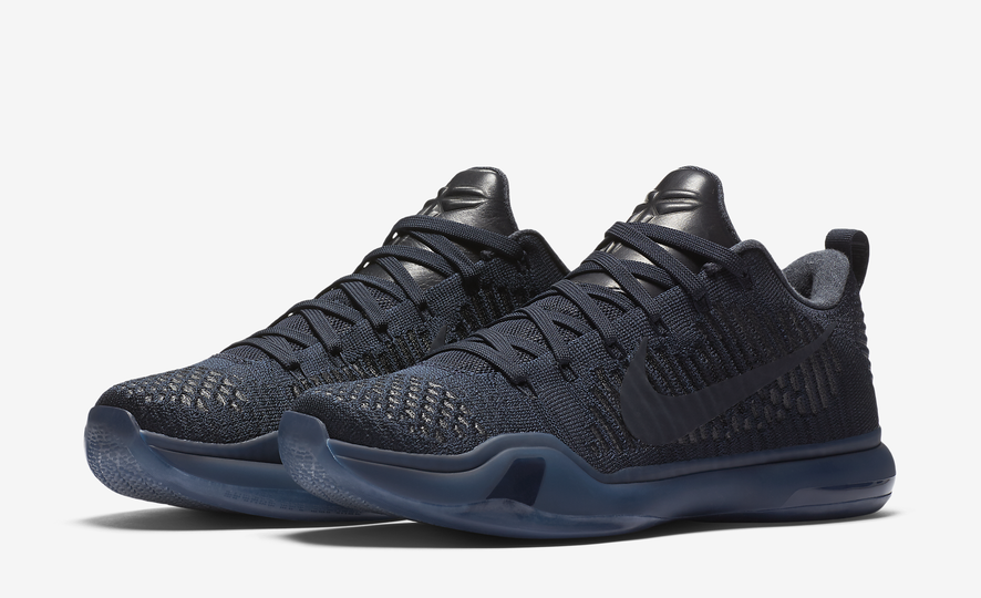 Nike Kobe 10 Elite Low FTB Fade to Black Mamba