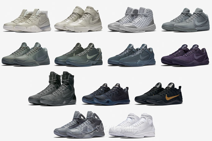 19ac1be8d4b96f Nike Kobe Fade to Black Pack - Sneaker Bar Detroit