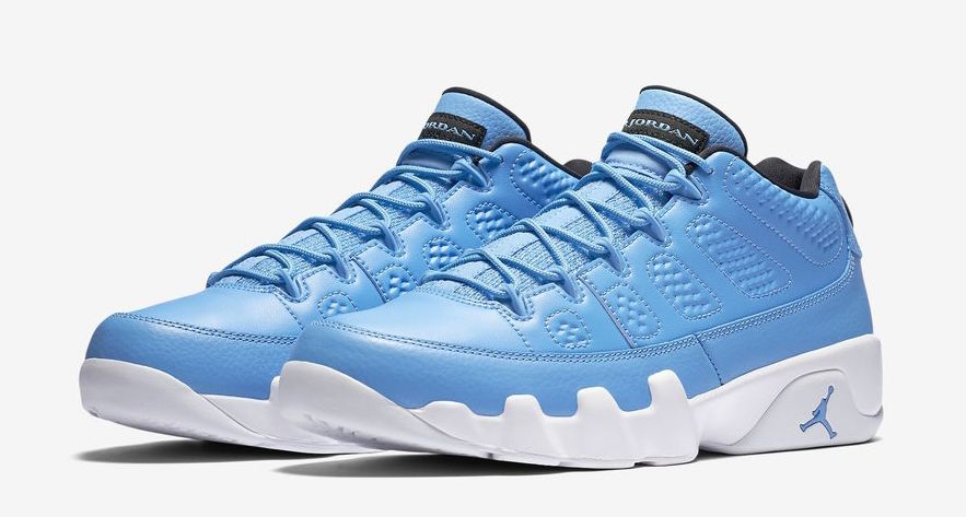 finest selection aa974 eac01 Pantone Air Jordan 9 Low Official Look