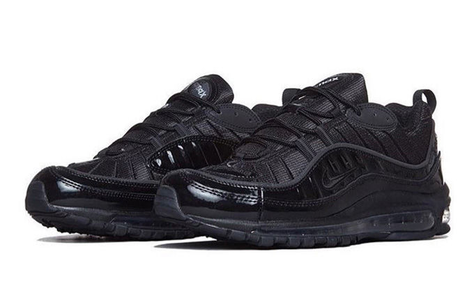 Supreme Nike Air Max 98 Black - Sneaker Bar Detroit a317c0933