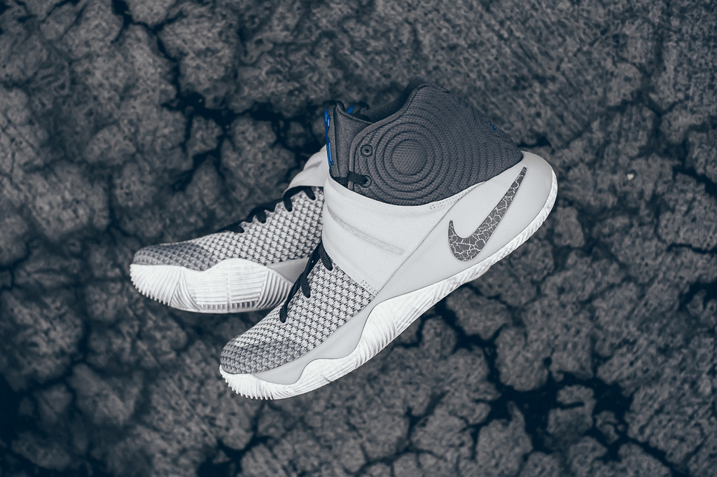 huge selection of 84176 3ed8a Wolf Grey Nike Kyrie 2 Omega Blue