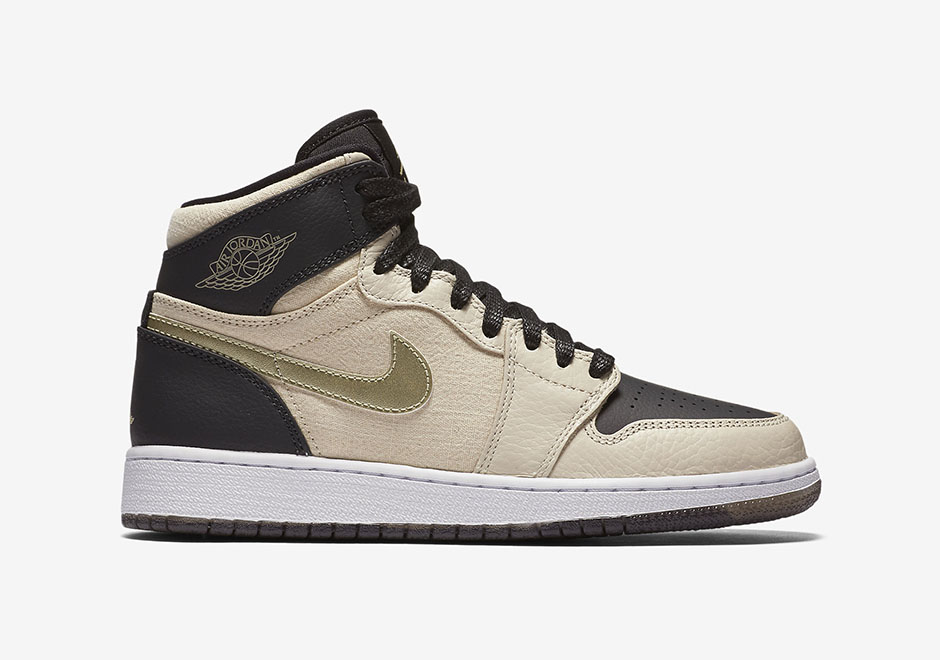 Air Jordan 1 GS Sail Baroque Brown
