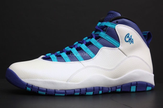 Air Jordan 10 City Pack Charlotte Hornets