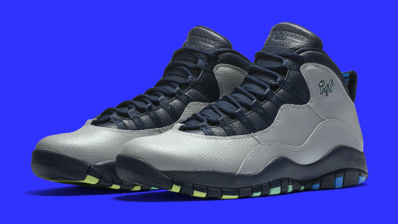 more photos 6f22f cad0f Air Jordan 10 Rio Brazil