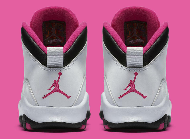 best website 8ca24 7c1ba Air Jordan 10 GS Vivid Pink Release Date - Sneaker Bar Detroit
