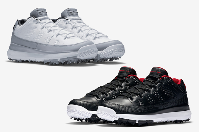 6cbf7f024929 Jordan Brand is set to release two brand new Air Jordan 9 Low Golf ...