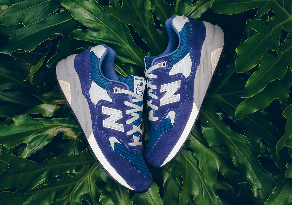New Balance MT580 Blue Suede