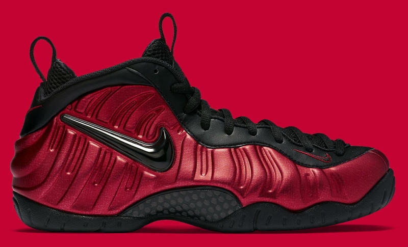 Nike Air Foamposite Pro Red Black