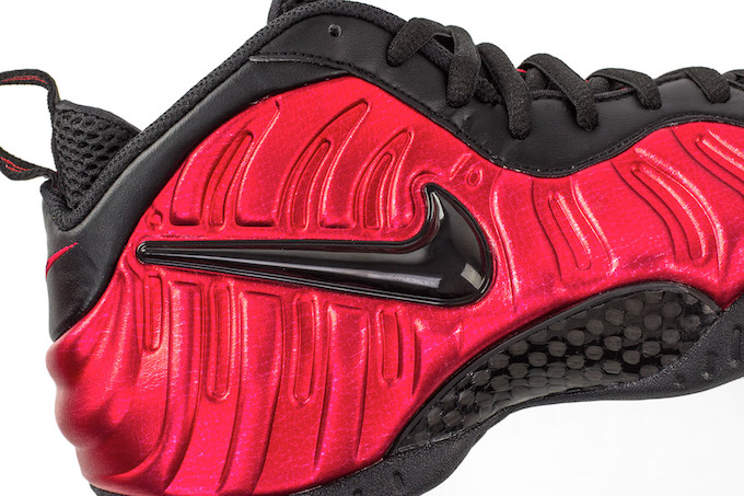 Nike Air Foamposite Pro University Red Detailed Look