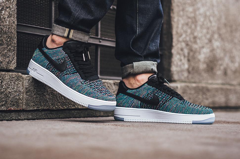 4995a4f3b2b72 Nike Air Force 1 Ultra Flyknit Blue Lagoon - Sneaker Bar Detroit