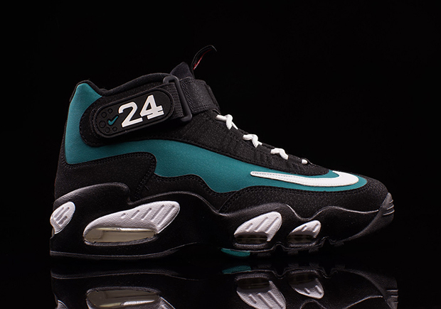 buy online e1422 df43d Nike Air Griffey Max Emerald Freshwater