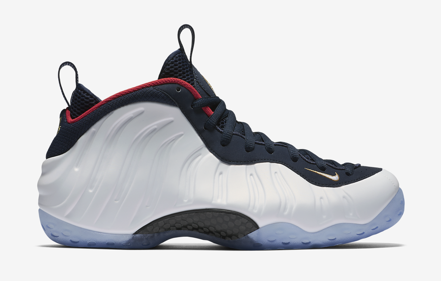fd9ed7ca29e8a Nike Air Foamposite One Olympic Release Date - Sneaker Bar Detroit