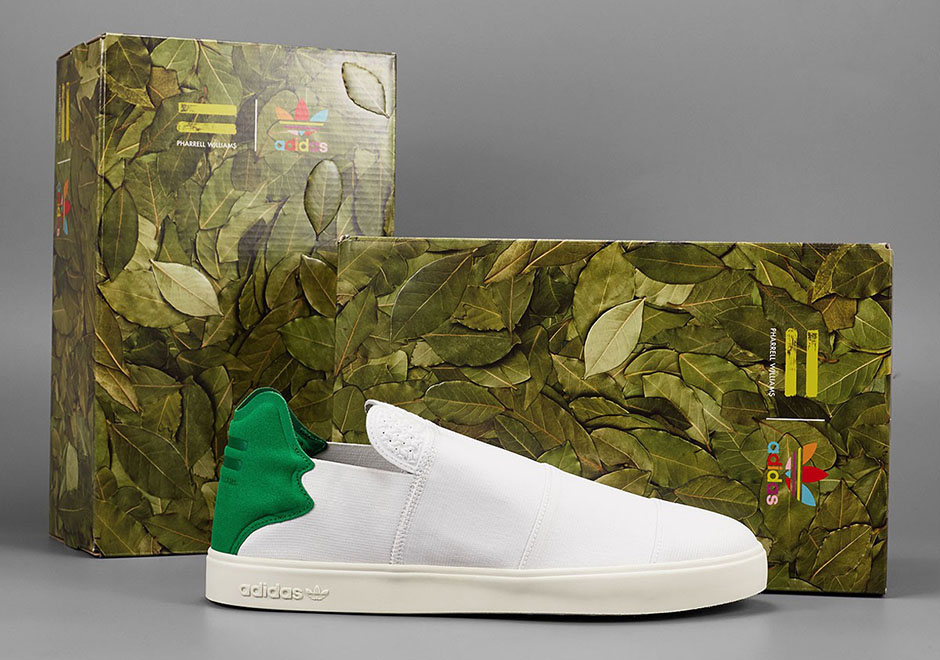 Pharrell adidas Elastic Releases Lace Up Slip On
