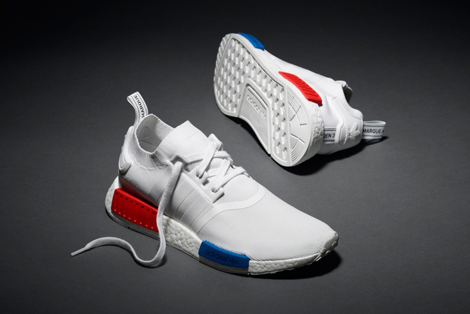 White adidas NMD Primeknit Release Date